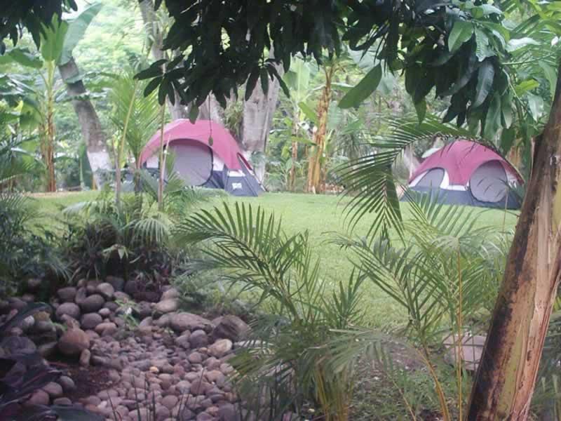 Area De Camping Cabañas En El Rio Pescados Jalcomulco Veracruz Rapidos de Veracruz Rafting Rappel Gotcha Tirolesa Cabalgata Temascal Temazcal Camping